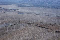 Aerial view of Devers Substation, windmills, and the San Andreas Fault Zone, Riverside County, California (cocoi_m) Tags: aerialphotograph aerial coloradodesert nature geology geomorphology deverssubstation windmill banningstrand sanandreasfaultzone riversidecounty california banningfault linear scarp garnethill palmspringsinternationalairport psp interstate10 i10 coachellavalley santarosarange palmsprings cathedralcity ranchomirage palmdesert northpalmsprings