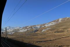 I_B_IMG_7752 (florian_grupp) Tags: train railway railroad mountain snow winter bluesky gansu china asia wuwei