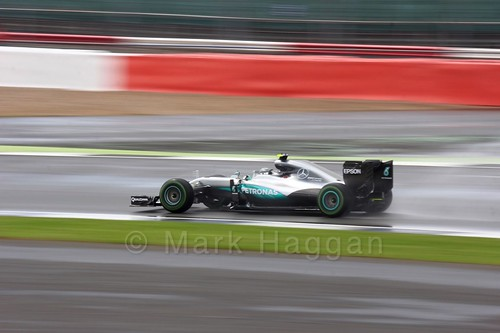 Nico Rosberg in the 2016 British Grand Prix