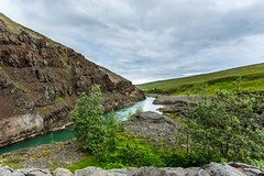 River Blanda (Einar Schioth) Tags: summer sky cliff cloud lake nature clouds canon landscape photo iceland day outdoor ngc picture canyon sland nationalgeographic blanda blndudalur einarschioth blondudalur riverblanda