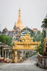 Stupa d'or (Ye-Zu) Tags: voyage trip temple burma stupa myanmar pagode worldtour birmanie tourdumonde monstate mawlamyine myanmarbirmanie
