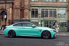 BMW F82 M4 (belgian.motorsport) Tags: london harrods bmw m4 f82