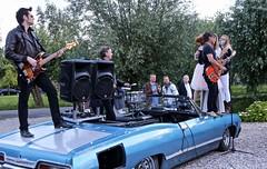 Performance Johnny and The Gangsters of Love (hrunge) Tags: netherlands performance rockroll vleuten straatfotografie canoneos6d johnnyandthegangstersoflove july2016 hrunge lenseg28135mmf3556isusm