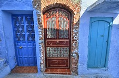 Make Your Choice (ott.geoffrey) Tags: chefchaouen morocco red blue three
