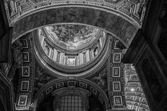 San Pietro-Vaticano (Raffaele_82) Tags: life light italy vatican rome history monochrome canon eos photo blackwhite view picture pancake 24mm monuments past sanpietro storia beatifull