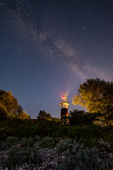 Milchstrae Blk (Bastian Sembdner-Braun) Tags: milchstrase milkyway kiel germany leuchtturm lighthouse 14mm samyang