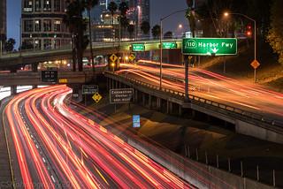 Harbour Freeway, Los Angeles