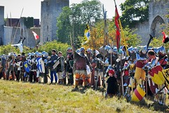 Battle of Wisby, Gotland 2016 (Bochum1805) Tags: battleofwisby medeltidsveckan 1361 historicalreenactment