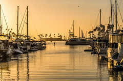Oceanside Harbor Village, California (Ken Mickel) Tags: boat boats california harbor harborvillage landscape oceanside outdoors ship ships sunsets waterscape photography sunset