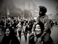 V (Felipe Smides) Tags: v vendetta santiago chile marcha protesta riot riots vdevendetta noafp 25072016 fotografa felipesmides smides