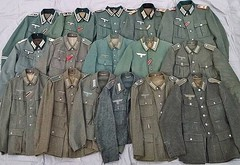 Wehrmacht wool tunics (Huntmster) Tags: wwii wehrmacht german