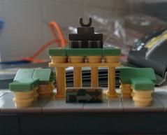 Berlin: Brandenburg Gate (JETfri) Tags: lego berlin microscale set21027 brandenburggate
