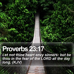 Daily Bible Verse - Proverbs 23:17 (daily-bible-verse) Tags: scriptures author nature salvation bibleverse godisgood