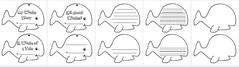 Whale Shape Book (CHSH - Christian Home School Hub) Tags: whales creativewriting