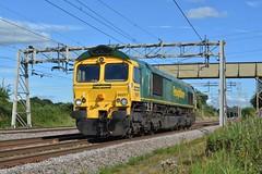 27-07-16 Freightliner 66557 - 0F71 Crewe Basford Hall - Garston (Lukas66538) Tags: class 66 66557 freightliner 0f71 acton bridge crewe basford hall garston