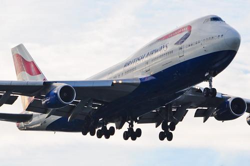 British Airways 747-436 G-BNLY