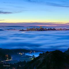 Fog city (davidyuweb) Tags: fog city sfist san francisco fogcity low bay bridge marin headlands