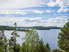 Luonteri (MikeAncient) Tags: karihiekka juva suomi finland geotagged jrvi lake island saari taivas sky pilvet clouds pilvi pilvi cloud