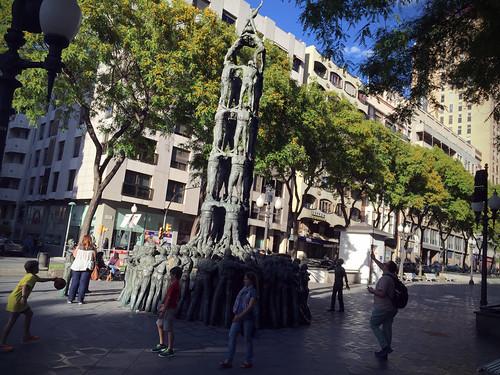Castells, Menschentürme in Tarragona