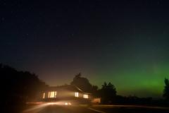 Born on the Bayou (TigerPal) Tags: saskatchewan sask northernlights bayou farm farmhouse night aurora auroraborealis mist fog stars darkness dark backroads silhouette silhouettephotography