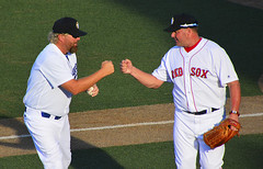 TOBY KEITH & ROGER CLEMENS (TV Director) Tags: rogerclemens baseball tobykeith firstpitch redsox