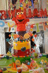 Elmo cake (Tjs photography909) Tags: cake birthday elmo sesamestreet party