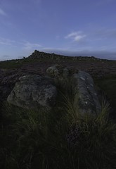 Owler Tor (George Collins Photography) Tags: peakdistrict canon6d owler tor bluehour blue hour