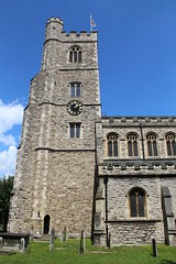All Saints, Fulham (richardr) Tags: allsaints church fulham london hammersmithfulham hammersmith parkbuildingarchitecturebritainbritishgreat britainukunited kingdom europe european history heritage historic old england english clock blomfield arthurblomfield tower