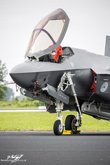 Lockheed Martin F-35A Lightning II F-001 - 323rd Test and Evaluation Squadron - Royal Netherlands Air Force (BenSMontgomery) Tags: lockheed martin f35a lightning ii f001 323rd test evaluation squadron royal netherlands air force luchtmachtdagen 2016 leeuwarden