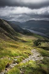 The Valley of the Storm (Neillwphoto) Tags: benledi trossachs hill path clouds lochlomond valley landscape scotland loch lubnaig