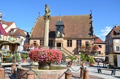 Place de Molsheim (Puit & Metzig) (Zphyrios) Tags: molsheim fontaine mutzig alsace nikon d7000 france