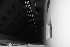 (Nastroisolante) Tags: blackandwhite shadow ombre luci light inquietudine fear nastroisolante biancoenero stairs scale senzafondo bottomless