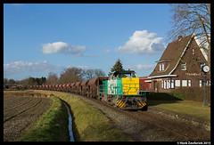 BE D27 + B 333, Quendorf 10-3-2015 (Henk Zwoferink) Tags: eisenbahn be 80 92 henk badbentheim gip 1275 nordhorn sbr d27 6336 lte bentheimer quendorf facns zwoferin