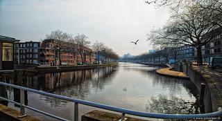 Rotterdam, the river Rotte