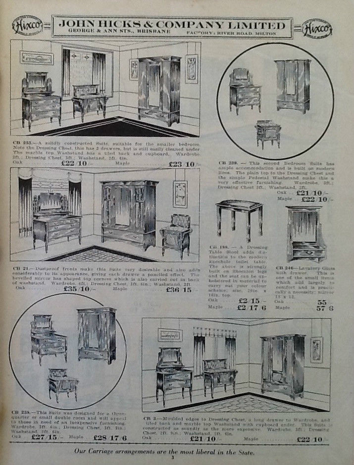 Hicks Furniture The worlds best photos of furniture and pricelist flickr hive mind john hicks and company brisbane furniture catalogue aussiemobs tags sisterspd