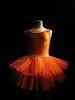 the pumpkin dress (Sandra Löv) Tags: ballet orange black dress tulle tutu tyll