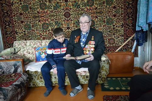 В гостях у ветерана (04.02.2015)