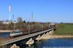 E655.267 (Davuz95) Tags: milano cargo venezia villanova 267 cervignano e655 albignano