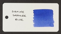 Diamine Sapphire Blue - Word Card