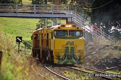 ZR2 & ZP1 heading out of Hobart (DQ2004) Tags: tasrail hobartrailyard australiannational antasrail zpclass zrclass zp1 zr2