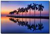 Breaking Dawn (Fraggle Red) Tags: reflections dawn spring twilight florida miami palmtrees keyhole hdr vernalequinox springequinox royalpalms 7exp deeringestate 1stdayofspring canonef1635mmf28liiusm cutlerbay miamidadeco dphdr deeringestateatcutler adobephotoshopcs6