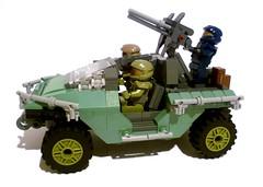 Halo Warthog (jazlecraz) Tags: lego halo warthog