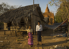 People Living In Front Of An Old Temple, Bagan, Myanmar (Eric Lafforgue) Tags: old travel house color colour history tourism archaeology horizontal architecture temple photography pagoda ancient ruins worship asia southeastasia day adult buddha burma stupa faith religion buddhism myanmar spirituality fullframe burmese 2people twopeople pagan bagan birmanie traveldestinations colorimage famousplace lookingatcamera  birmania mianmar  nationallandmark traditionally placeofinterest  internationallandmark   barma  mianm  builtstructure  colourpicture    birmanya    mjanmar mjanmarsko pa mandalayregion burma0186