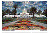 Conservatory of Flowers Mosaic, Golden Gate Park, San Francisco (Vern Krutein) Tags: sanfrancisco california city travel usa building history glass architecture landmark structure historic greenhouse american archives scenics victorianarchitecture sanfranciscoconservatoryofflowers