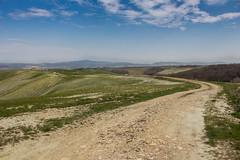 Crete Senesi - Il Casolare (alessio.polloni) Tags: panorama canon eos nuvole dune natura erba cielo campo siena 1855 toscana paesaggio cretesenesi illuminazione 2015 sfumature eos700d