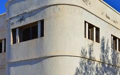 Bauhaus 2 (orientalizing) Tags: desktop abandoned architecture morocco bauhaus sidiifni whitewash featured atlanticcoast formerspanishcolony spanishcolonialbuildings