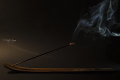 Incense (MatEOS87) Tags: life italy stilllife canon eos still italia mark smoke iii 5d incense incenso fumo incensesmoke canoneos5dmarkiii