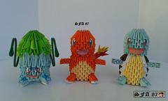 1st Starter Pokemon Origami 3d (Samuel Sfa87) Tags: anime japan 3d origami arte 1st starter crafts cartoon craft sfa pokemon ash block pokmon carta artisan squirtle charmander cartone cartoni bulbasaur arteempapel blockfolding bulbizarre origami3d sfaorigami sfa87 arteconlacarta