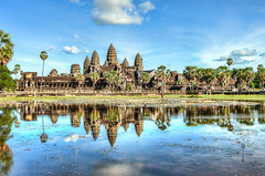 Angkor Wat (Foodie Baker) Tags: park travel nature temple holidays cambodia angkorwat siemreap angkor