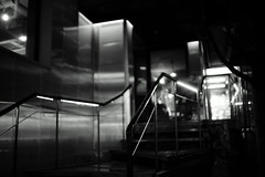 2023/1748' (june1777) Tags: street light bw night 35mm dof bokeh sony cosina voigtlander snap 1600 seoul a7 nokton f12 hongdae